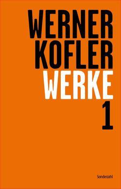 Werke 1 von Dürr,  Claudia, Köfler,  Werner, Sonnleitner,  Johann, Straub,  Wolfgang
