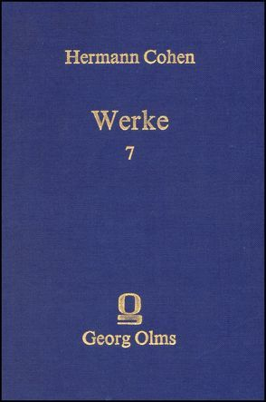 Werke von Cohen,  Hermann, Schmid,  Peter A.