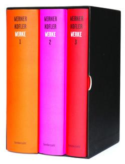 Werke (3 Bände im Schuber) von Dürr,  Claudia, Köfler,  Werner, Sonnleitner,  Johann, Straub,  Wolfgang