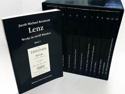 Werke von Lenz,  Jakob M, Weiss,  Christoph
