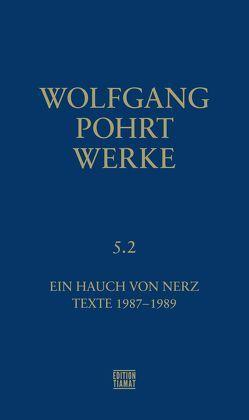 Werke Band 5.2 von Pohrt,  Wolfgang