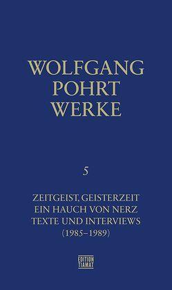 Werke Band 5.1 von Pohrt,  Wolfgang