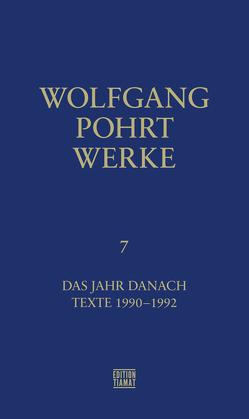 Werke Band 7 von Pohrt,  Wolfgang