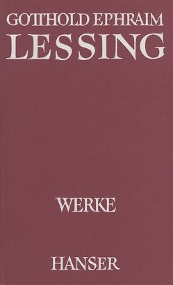 Werke Band VII von Goebel,  Helmut, Göpfert,  Herbert G, Lessing,  Gotthold Ephraim