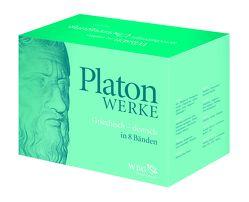 Werke in 8 Bänden von Eigler,  Gunther, Hofmann,  Heinz, Kurz,  Dietrich, Platon, Schöpsdau,  Klaus, Staudacher,  Peter, Widdra,  Klaus