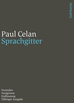 Werke. Tübinger Ausgabe von Celan,  Paul, Schmull,  Heino, Schwarzkopf,  Michael, Wertheimer,  Jürgen