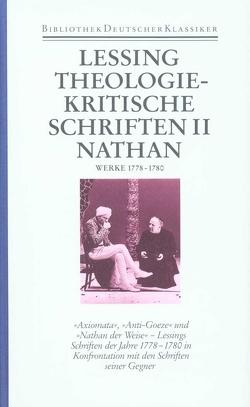 Werke und Briefe in zwölf Bänden von Bohnen,  Klaus, Lessing,  Gotthold Ephraim, Schilson,  Arno