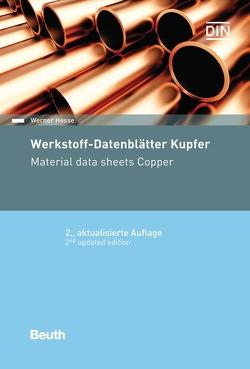 Werkstoff-Datenblätter Kupfer von Hesse,  Werner
