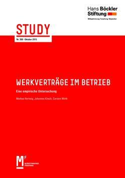 Werkverträge im Betrieb von Hertwig,  Markus, Kirsch,  Johannes, Wirth,  Carsten