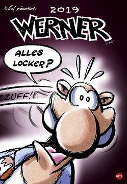 Werner Kalender – Kalender 2019 von Heye