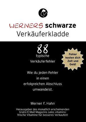 Werners schwarze Verkäuferkladde von Hahn,  Werner F.