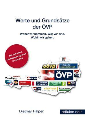 Werte und Grundsätze der ÖVP von Halper,  Dietmar