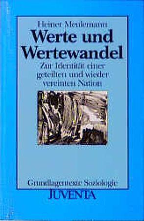Werte und Wertewandel von Meulemann,  Heiner