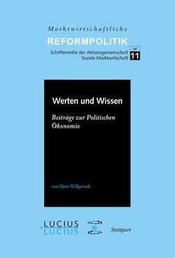 Werten und Wissen von Willgerodt,  Hans
