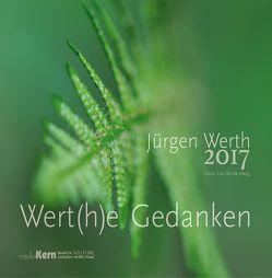 Wert(h)e Gedanken 2017 von Werth,  Jürgen