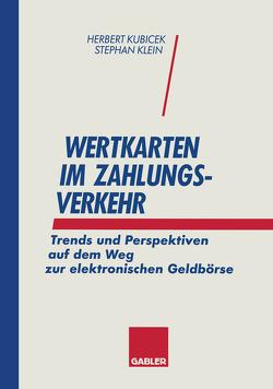 Wertkarten Zahlungsverkehr von Klein,  Stephan, Kubicek,  Herbert