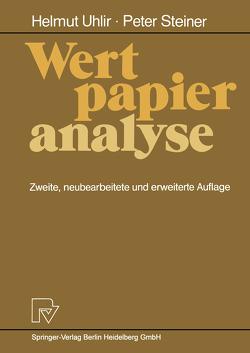 Wertpapieranalyse von Steiner,  Peter, Uhlir,  Helmut