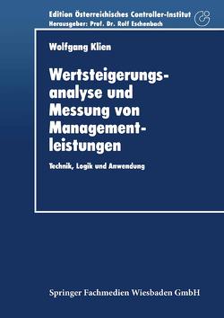 Wertsteigerungsanalyse und Messung von Managementleistungen von Klien,  Wolfgang
