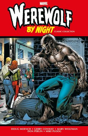 Werewolf by Night Classic Collection von Conway,  Gerry, Ploog,  Mike
