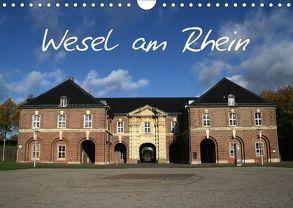 Wesel am Rhein (Wandkalender 2018 DIN A4 quer) von Daus,  Christine