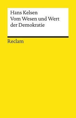 Vom Wesen und Wert der Demokratie von Kelsen,  Hans, Zeleny,  Klaus