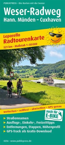 Weser-Radweg, Hann. Münden – Cuxhaven