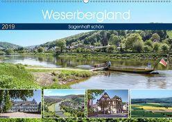 Weserbergland – sagenhaft schön (Wandkalender 2019 DIN A2 quer) von Becker,  Thomas