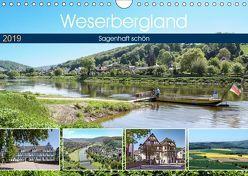 Weserbergland – sagenhaft schön (Wandkalender 2019 DIN A4 quer) von Becker,  Thomas