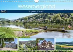 Weserbergland – sagenhaft schön (Wandkalender 2020 DIN A4 quer) von Becker,  Thomas