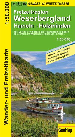 Weserbergland Wander- und Freizeitkarte