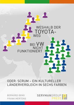 Weshalb der Toyotaweg bei VW nicht funktioniert von Ibing,  Bernârd, Mertens,  Frank