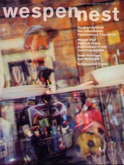 Wespennest. Zeitschrift für brauchbare Texte und Bilder / Ironie von Famler,  Walter, Kraller,  Bernhard