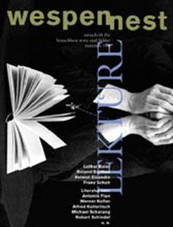 Wespennest. Zeitschrift für brauchbare Texte und Bilder / Lektüre von Famler,  Walter