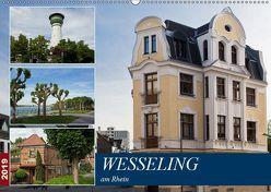 Wesseling am Rhein (Wandkalender 2019 DIN A2 quer)