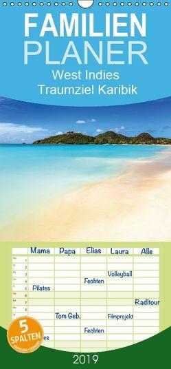 West Indies – Traumziel Karibik – Familienplaner hoch (Wandkalender 2019 , 21 cm x 45 cm, hoch) von Claude Castor I 030mm-photography,  Jean