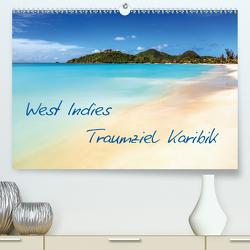 West Indies – Traumziel Karibik (Premium, hochwertiger DIN A2 Wandkalender 2020, Kunstdruck in Hochglanz) von Claude Castor I 030mm-photography,  Jean