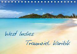 West Indies – Traumziel Karibik (Tischkalender 2019 DIN A5 quer) von Claude Castor I 030mm-photography,  Jean