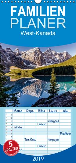West-Kanada – Familienplaner hoch (Wandkalender 2019 , 21 cm x 45 cm, hoch) von Gerber,  Thomas
