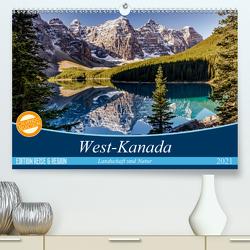 West-Kanada (Premium, hochwertiger DIN A2 Wandkalender 2021, Kunstdruck in Hochglanz) von Gerber,  Thomas