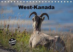 West-Kanada (Tischkalender 2019 DIN A5 quer) von Bort,  Gundis
