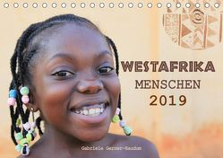 Westafrika Menschen 2019 (Tischkalender 2019 DIN A5 quer) von Gerner-Haudum,  Gabriele