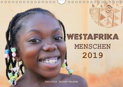 Westafrika Menschen 2019 (Wandkalender 2019 DIN A4 quer) von Gerner-Haudum,  Gabriele