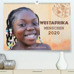 Westafrika Menschen 2020 (Premium, hochwertiger DIN A2 Wandkalender 2020, Kunstdruck in Hochglanz) von Gerner-Haudum,  Gabriele