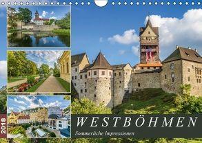 WESTBÖHMEN Sommerliche Impressionen (Wandkalender 2018 DIN A4 quer) von Viola,  Melanie