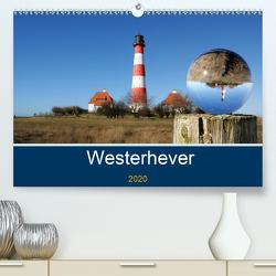 Westerhever (Premium, hochwertiger DIN A2 Wandkalender 2020, Kunstdruck in Hochglanz) von Fornal,  Martina