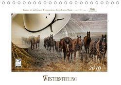 Western-Feeling (Tischkalender 2019 DIN A5 quer) von Wrede,  Martina