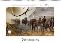 Western-Feeling (Wandkalender 2019 DIN A2 quer) von Wrede,  Martina