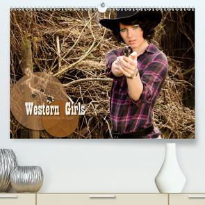 Western Girls (Premium, hochwertiger DIN A2 Wandkalender 2021, Kunstdruck in Hochglanz) von Weggel,  Matthias