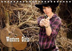 Western Girls (Tischkalender 2019 DIN A5 quer) von Weggel,  Matthias