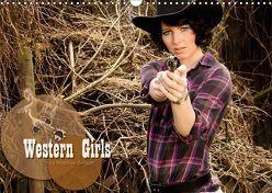 Western Girls (Wandkalender 2019 DIN A3 quer) von Weggel,  Matthias
